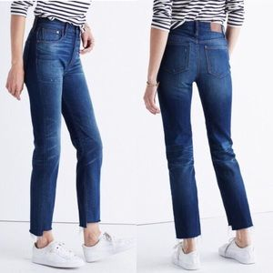 Madewell perfect vintage jeans